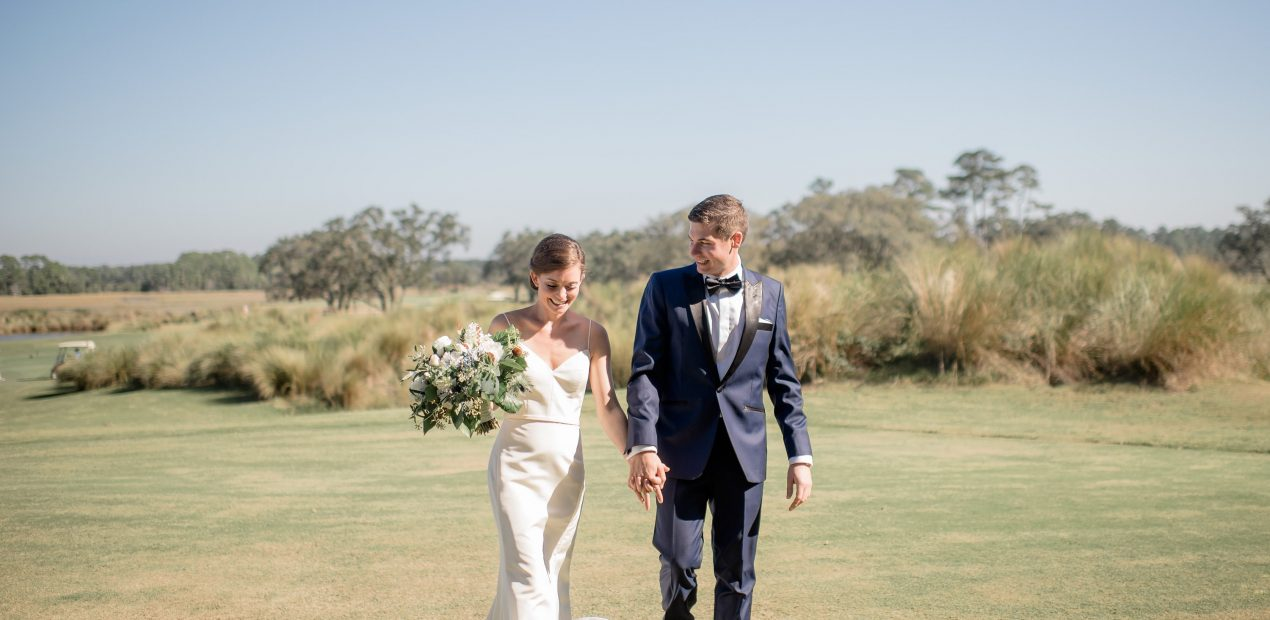 Fall Wedding on Kiawah Island
